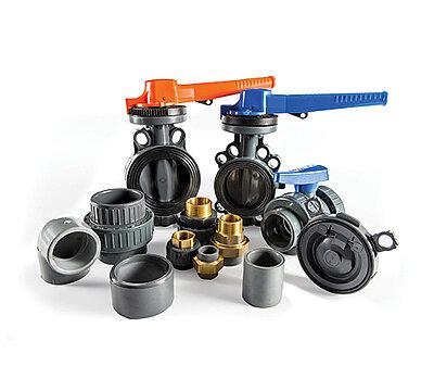 PVC-U Formteile und Armaturen PVC-U Rohrleitungs-System